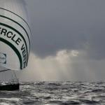 Gildas Morvan et Charlie Dalin à bord du Figaro Cercle Vert - Transat AG2R LA MONDIALE le 01/05/2012