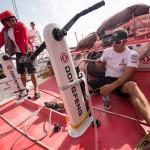 2014-15, Dongfeng Race Team, Leg6, OBR, VOR, Volvo Ocean Race, onboard, water maker, fresh water, pedestal, pump, Eric Peron, Musto, Harken, Inmarsat, fix, repair