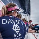2014-15, Leg6, OBR, Team SCA, VOR, Volvo Ocean Race, onboard, Skipper, Sam Davies