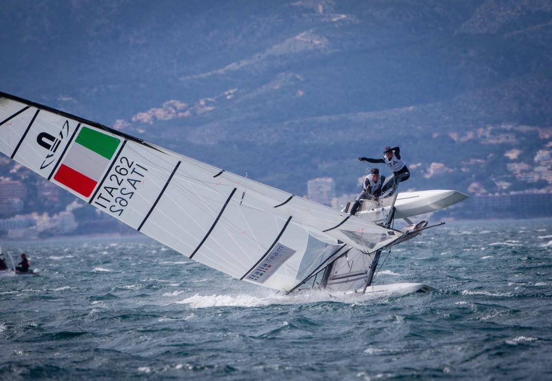 46 Trofeo S.A.R. Princesa Sofia, 46th Princesa Sofia Trophy, Jesus Renedo, Nacra 17, Nacra 17 ITA ITA-262 2 Vittorio BISSARO Silvia SICOURI, olympic sailing, sailing