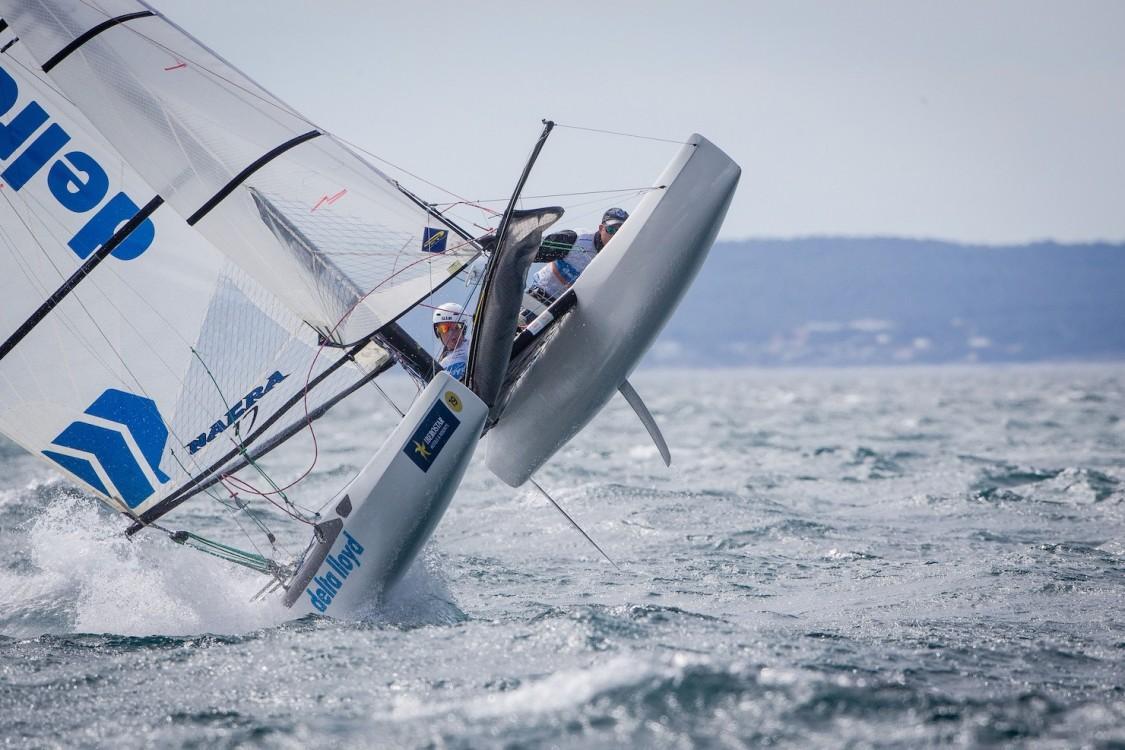 46 Trofeo S.A.R. Princesa Sofia, 46th Princesa Sofia Trophy, Jesus Renedo, Nacra 17, Nacra 17 NED NED-244 19 Mandy MULDER Coen DE KONING, olympic sailing, sailing