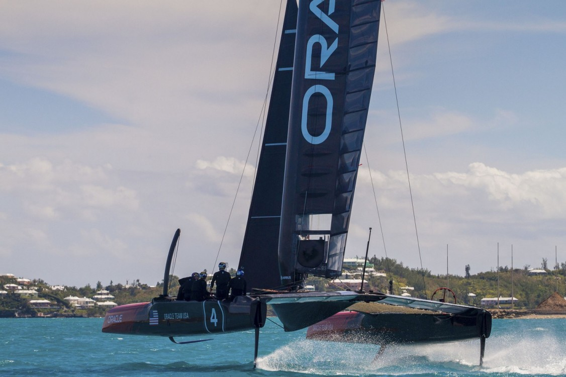 35th America's Cup, AC35, AC45S, Bermuda, DEFENDER, ORACLE Team USA