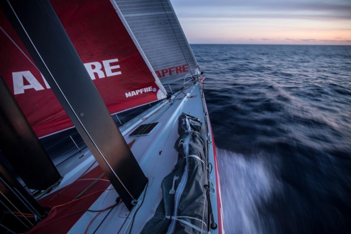 2014 - 15, Leg6, MAPFRE, OBR, VOR, Volvo Ocean Race, onboard, Sunrise