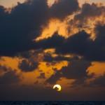 2014-15, Leg6, OBR, ONBOARD, TEAM ALVIMEDICA, VOR, Volvo Ocean Race, sunset, cloud, weather, seascape