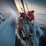 2014-15, Dongfeng Race Team, Leg7, OBR, VOR, Volvo Ocean Race, onboard, bow, Jin Hao Chen, Horace, sails