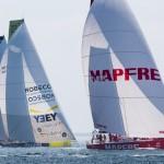2014-15, Volvo Ocean Race, VOR, MAPFRE, Leg7, Newport, Start, Team Brunel, Team Alvimedica