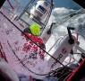 2014-15, Dongfeng Race Team, Leg8, OBR, VOR, Volvo Ocean Race, onboard, splash, ocean, Inmarsat, hatch