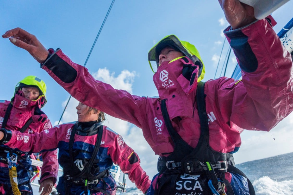 2014-15, Leg 8, OBR, Team SCA, VOR, Volvo Ocean Race, onboard, Bay of Biscay