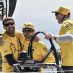 Volvo Ocean Race, VOR, arrivals, race finish, Gothenburg, Race Village, 2014-15, Abu Dhabi Ocean Racing