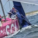 2014-15, VOR, Volvo Ocean Race, Inport, Lorient, Team SCA, incident, sail