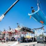 Volvo Ocean Race, VOR, 2014-15, Team Vestas Wind, back, lisbon, boatyard