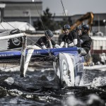Act4, Cardiff, Day2, Day4, ESS, Ed Smyth, Extreme Sailing Series, Fleet, Leigh McMillan, Multihull, Nasser Al Mashari, Pete Greenhalgh, Sarah Ayton, Stadium Racing, The Wave Muscat, UK