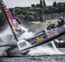 Act4, Cardiff, Day4, ESS, Extreme Sailing Series, Fleet, Hans Peter Steinacher, Jason Waterhouse, Josh McKnight, Multihull, Red Bull Sailing Team, Shaun Mason, Stadium Racing, Stewart Dodson, UK