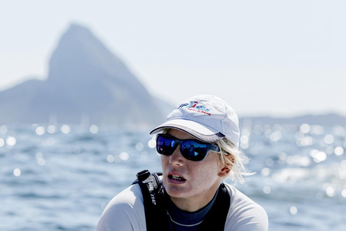 action, adrenalin, athletic, athlets, Brasil, Brazil, breeze, Brésil, colour, crew, design, dinghy, Fédération Française de Voile, fiberglass, fleet, fun, horizontal, International Sailing Federation, ISAF, ISAF Sailing World Cup, Laser Radial, liquid, mast, Mathilde De Kerangat, ocean, Olympic, Olympic class, Olympic sailing, one design, outdoor, performance, physical, propulsion, regatta, Rio 2016, Rio de Janeiro, sail, sailing, sea, sport, sunny, tactic, team, team work, test event, training, trim water, water, weather, wind, wind surf, yacht, yachting