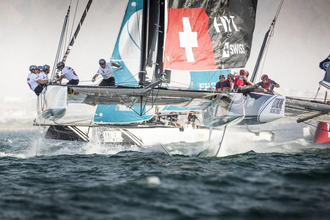 GC32, Foiling Catamaran, Muscat, Oman, The Extreme Sailing Series