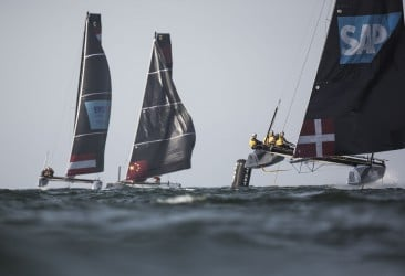 GC32, Foiling Catamaran, Muscat, Oman, The Extreme Sailing Series