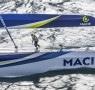 voile, mars, action, aerien, helico, aerial, trimaran, multicoques, multihull
