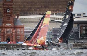 The Extreme Sailing Series 2016, Multihull, GC32, Cardiff, Act3, Foiling Catamaran