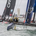 2016, 35th America's Cup Bermuda 2017, AC35, AC45f, Europe, Inshore Races, LVACWS 2016, Louis Vuitton America's Cup World Series Portsmouth, Multihulls, One Design, Portsmouth, RD2, RP, Racing Day 2, Regatta, Ricardo Pinto, Sailing, United Kingdom, ARTEMIS RACING, ORACLE TEAM USA