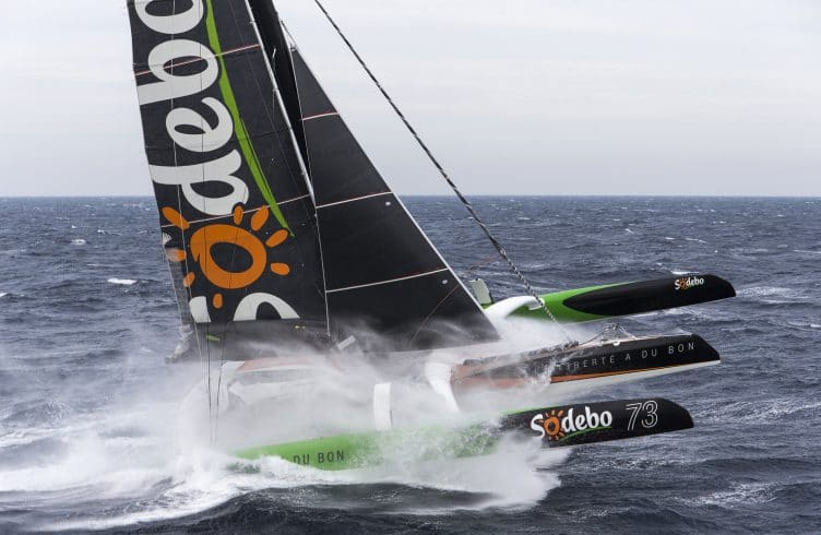 octobre, record, stand by, action, multihull, multi, trimaran