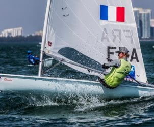 2017, Classes, FRA 209021 Jean Baptiste Bernaz FRAJB13, Jesus Renedo, Laser, Olympic Sailing, Sailing Energy, World Sailing, World Sailing's 2017 World Cup Series Miami