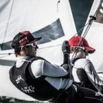 2017, 470 Men, Classes, Jesus Renedo, Olympic Sailing, SUI 46 Kilian Wagen SUIWK2 Gregoire Siegwart SUIGS3, Sailing Energy, World Sailing, World Sailing's 2017 World Cup Series Miami