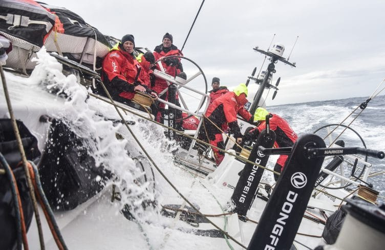 2017-18, Action, Dongfeng, ONBOARD, On-board, On board, A-board, Aboard, PRE-RACE, TEAMS, prerace, training