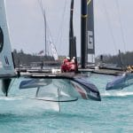 2017, 35th America's Cup Bermuda 2017, AC35, Sailing, North America, Bermuda, Qualifiers, Race Day 2, RD2, Artemis Racing, Groupama Team France