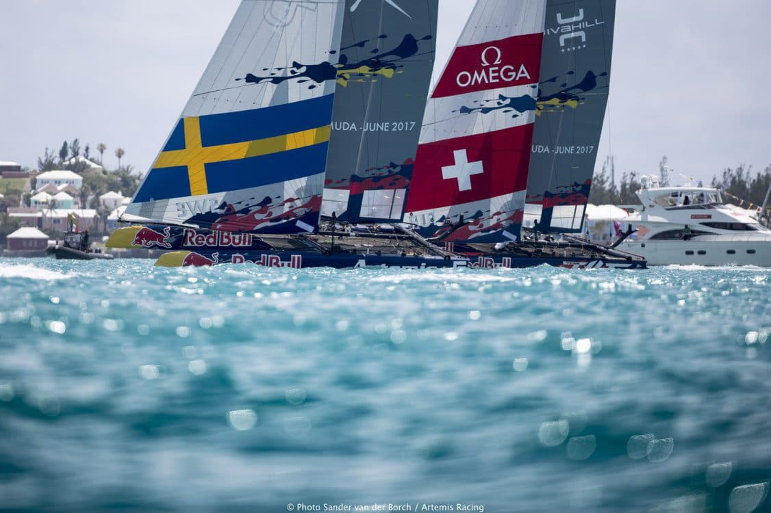 America's Cup, Artemis Racing, Artemis Youth Racing, Red Bull, Team Tilt, Switzerland