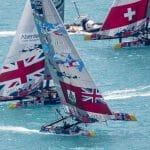 2017, 35th America's Cup Bermuda 2017, AC35, Sailing, Bermuda, Aeriall, RD2, Day2, Team BDA, Team Tilt, Switzerland, Land Rover BAR Academy, Great Britain
