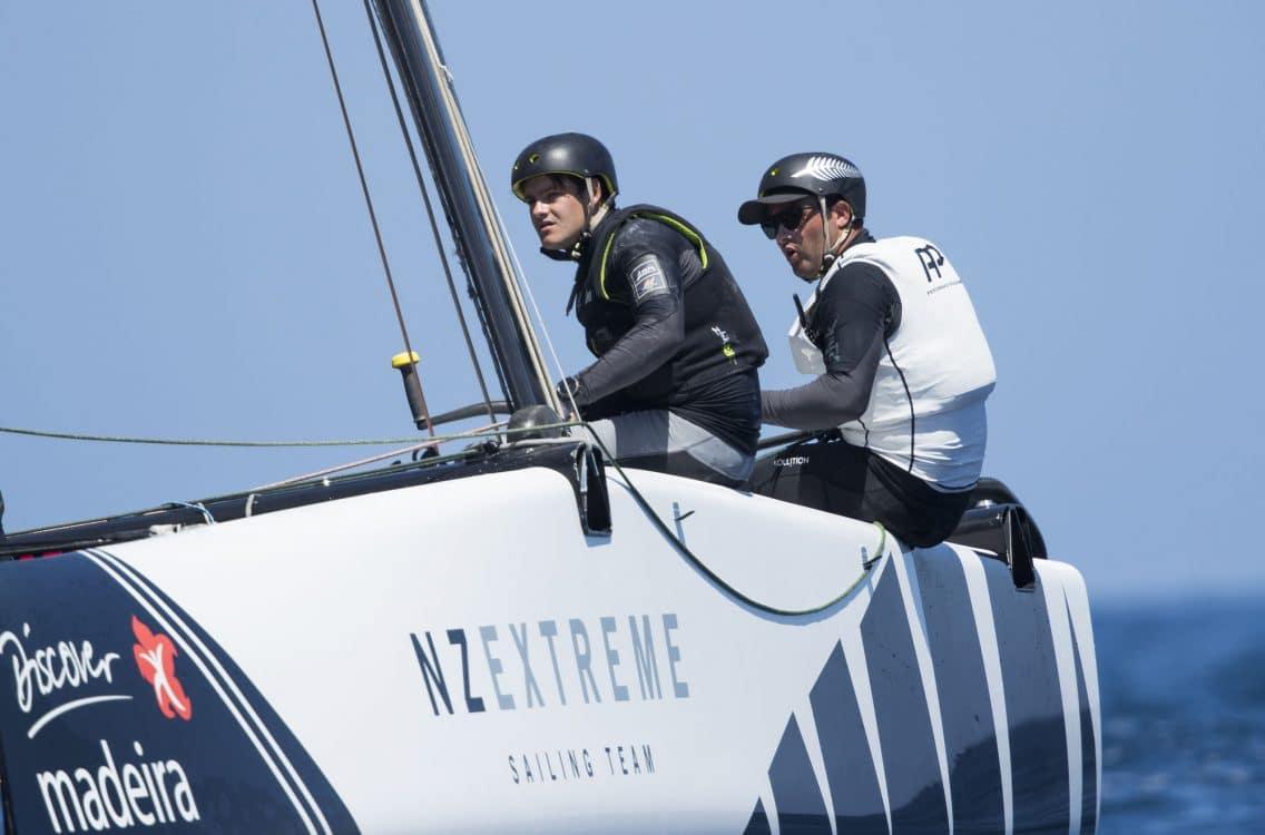 The Extreme Sailing Series 2017, Madeira, Foiling Catamaran, GC32, Sailing, Yacht Racing, Multihull, inteview