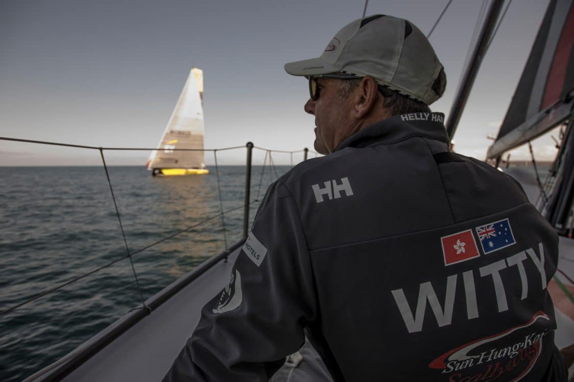2017-18, David Witt, Leg Zero, On board, On-board, Pre-race, Skipper, St Malo to Lisbon, Team Sun Hung Kai/Scallywag, Witty