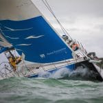 2017-18, Around the Island Race, Kind of picture, Leg Zero, Live, Pre-race, Turn the Tide on Plastic