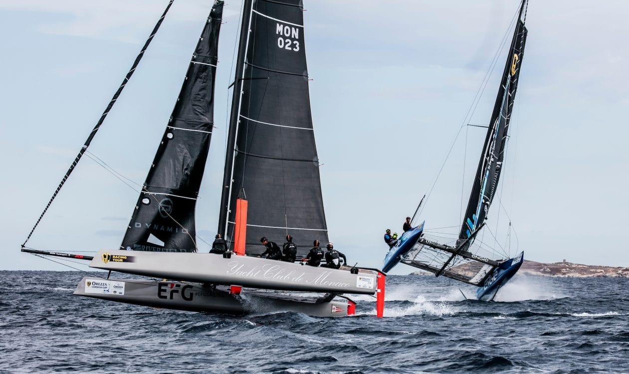 Calvi, Corsica, Extreme sailing, Fastest boats, GC32, GC32 Orezza Corsica Cup, GC32 Racing Tour, MALIZIA - YACHT CLUB DE MONACO, TEAM ENGIE, catamaran, foiling, foiling catamaran, one design yacht, sailing, speed, yachting