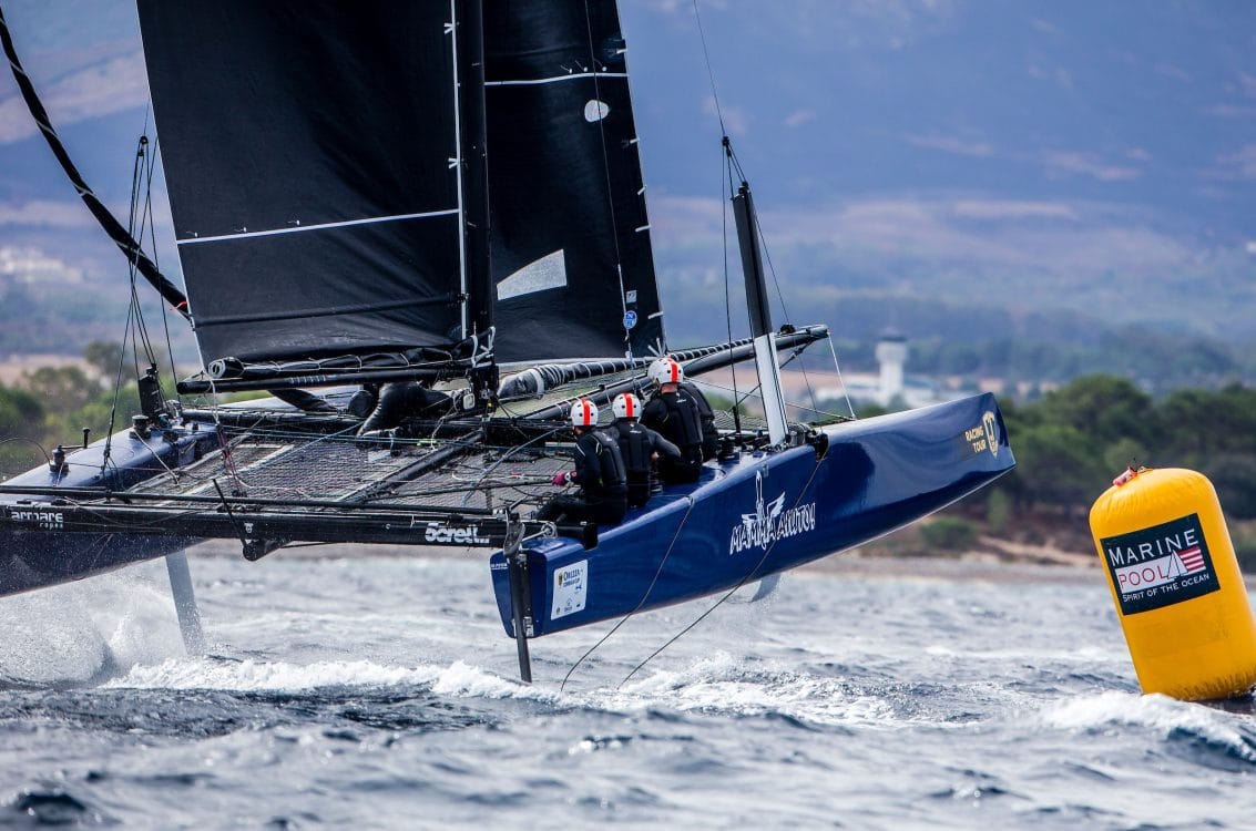 Calvi, Corsica, Extreme sailing, Fastest boats, GC32, GC32 Orezza Corsica Cup, GC32 Racing Tour, MAMMA AIUTO, catamaran, foiling, foiling catamaran, one design yacht, sailing, speed, yachting