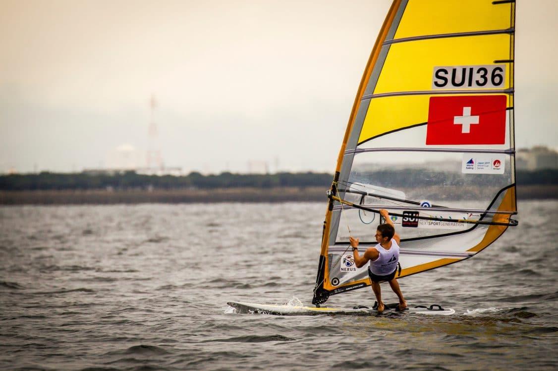 2018 World Cup Series, GAMAGORI, Japan, Olympic Sailing, RSXM, SUI 36Mateo Sanz Lanz (M)SUIMS27, Sailing Energy, WC Series Gamagori, World Sailing