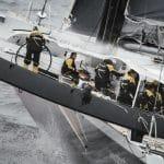 aerial, helicopter, helishot, maxi, offshore, spindrift 2, training, trimaran, yann guichard