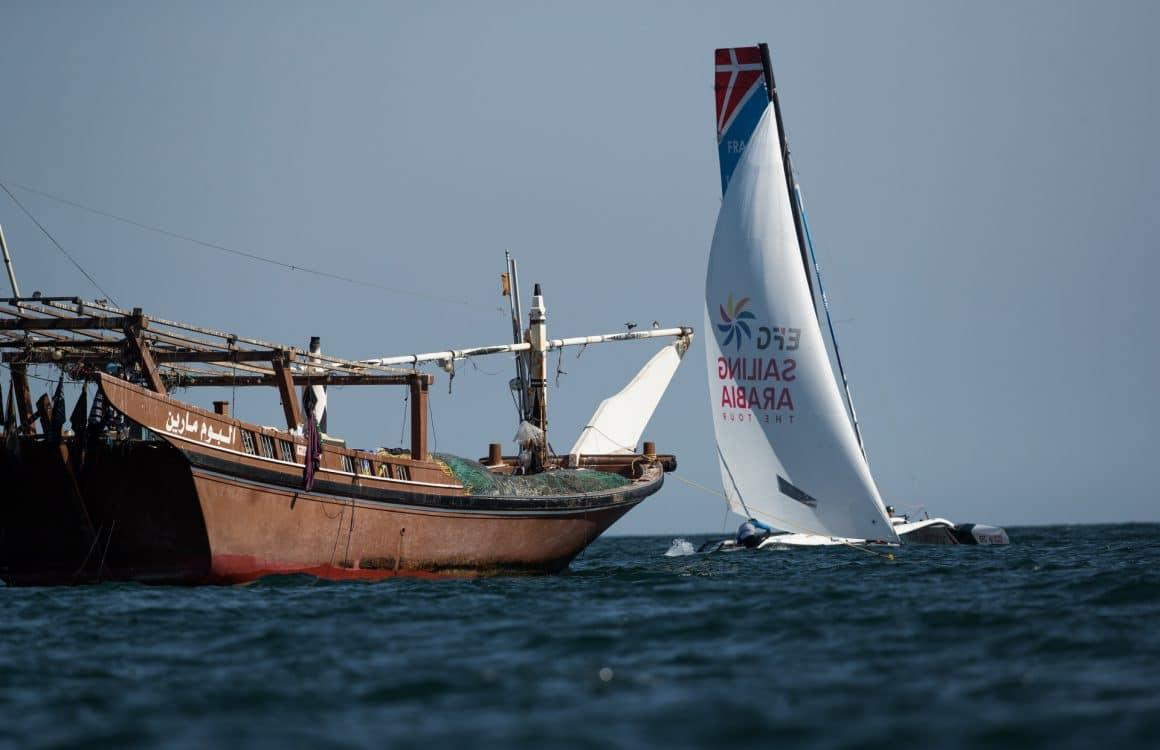 Water Sport, Sailing, Diam24, Multihull, Oman, 2018 EFG Sailing Arabia The Tour, Duqm