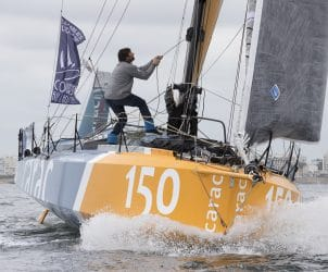 voile, course au large, 1000 milles, sables d olonne, vendee, les sables course au large, 2018, multi classe, Class 40, 150, DUC Louis, plan Lombard 2017