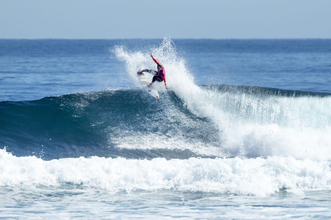 2018, 2018 Championship Tour, Margaret River, CT, Championship Tour, Surf, Surfing, West Australia, WSL, World Surf League, Action, Women, Carissa Moore, Round 3, Heat 1, World Champion